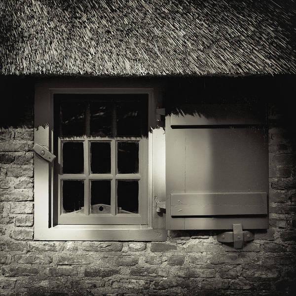 Photograph - Dutch Farmhouse Window by Dave Bowman