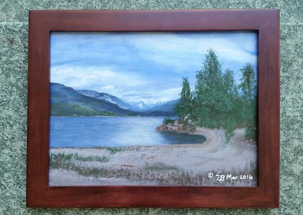Painting - Dutch Harbour, Kootenay Lake by Lorraine Bradford