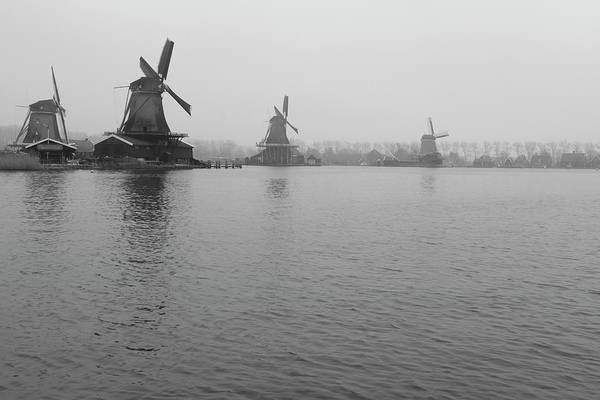 Photograph - Dutch Windmills by Kyle Wasielewski