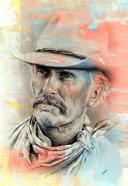 Gus Wall Art - Painting - Duvall Gus Mccrae by Andrew Read