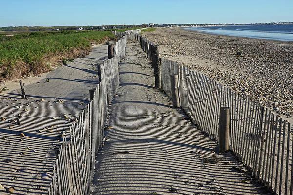 Wall Art - Photograph - Duxbury Ma Beach Fences South Shore by Toby McGuire
