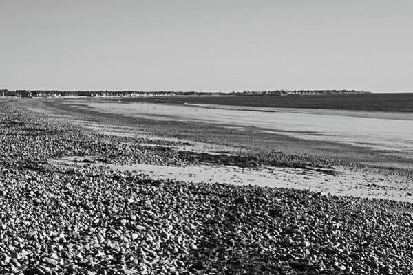 Wall Art - Photograph - Duxbury Ma Beach Sunrise South Shore Black And White by Toby McGuire