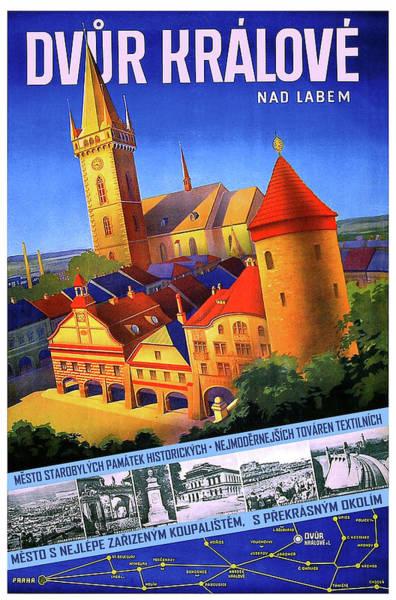 Czech Digital Art - Dvur Kralove Nad Labem  by Long Shot