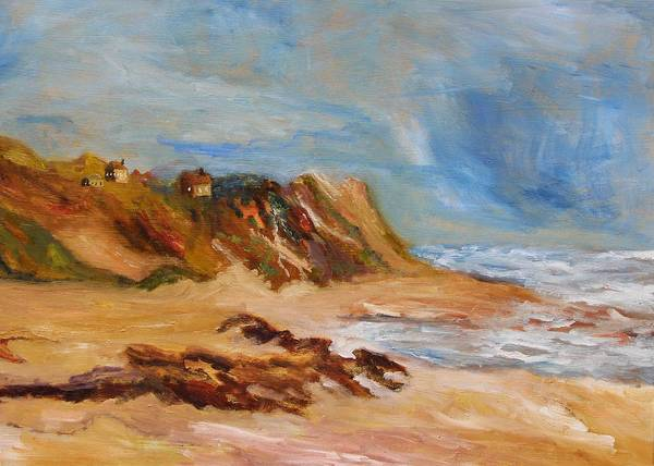 Painting - Dwellers On The Dunes by Michael Helfen