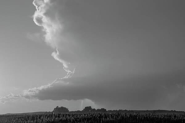 Photograph - Dying Nebraska Thunderstorms At Sunset 042 by NebraskaSC