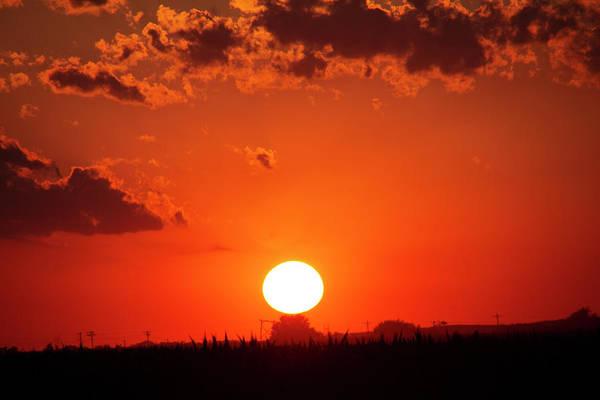 Photograph - Dying Nebraska Thunderstorms At Sunset 094 by NebraskaSC
