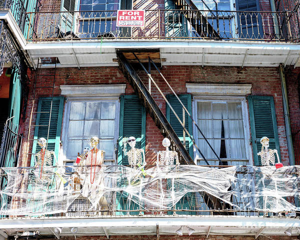 Photograph - Dying To Rent In The French Quarter New Orleans by John Rizzuto