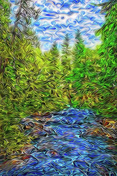 Digital Art - Dynamic Energies by Joel Bruce Wallach