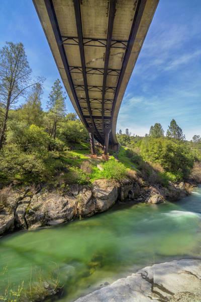 Photograph - E-16 Bridge Over Cosumnes River by Jonathan Hansen