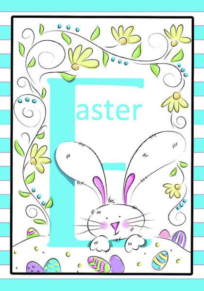 Wall Art - Digital Art - E For Easter by Deidre Mosher