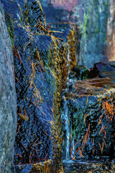 Photograph - Eagle Falls Abstract by Bill Gallagher