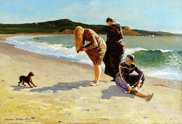 Wall Art - Painting - Eagle Head, Manchester, Massachusetts - Digital Remastered Edition by Winslow Homer