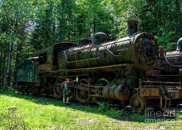 Wall Art - Photograph - Eagle Lake And West Branch Railroad - Allagash Maine II by Jan Mulherin