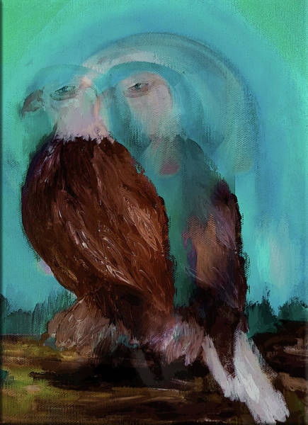 Wall Art - Digital Art - Eagle Spirit  by Lisa Kaiser
