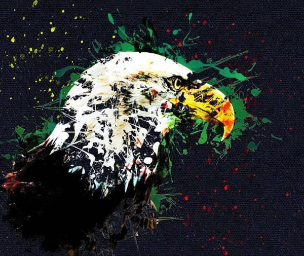 Wall Art - Painting - Eagle Splash by ArtMarketJapan