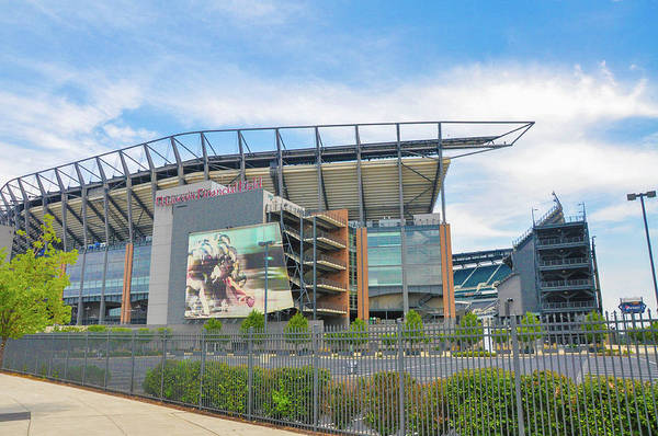 Photograph - Eagles Football - Lincoln Financial Field - Philadelphia by Bill Cannon