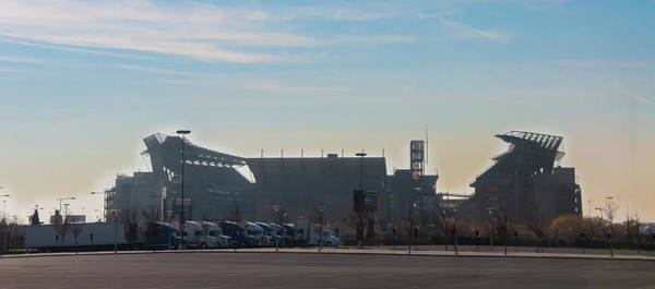 Photograph - Eagles Football - The Linc by Bill Cannon