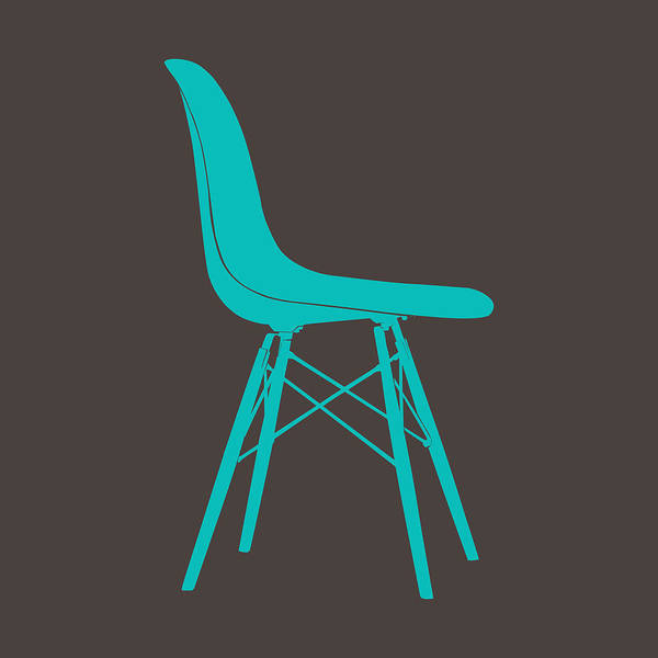 Wall Art - Digital Art - Eames Plastic Side Chair I by Naxart Studio
