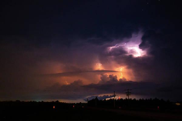 Photograph - Early August Nebraska Lightning 007 by NebraskaSC