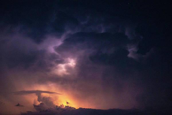 Photograph - Early August Nebraska Lightning 010 by NebraskaSC