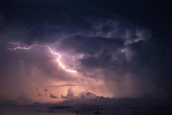 Photograph - Early August Nebraska Lightning 011 by NebraskaSC