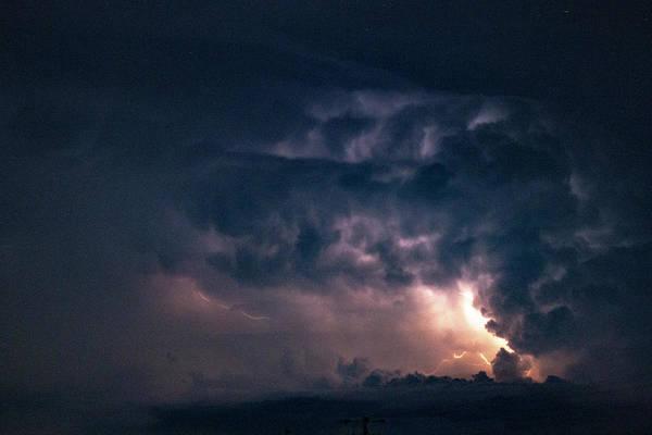 Photograph - Early August Nebraska Lightning 013 by NebraskaSC