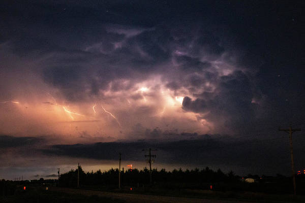 Photograph - Early August Nebraska Lightning 015 by NebraskaSC