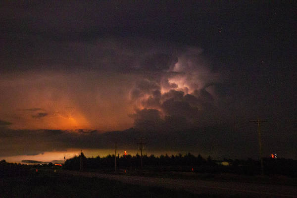 Photograph - Early August Nebraska Lightning 019 by NebraskaSC