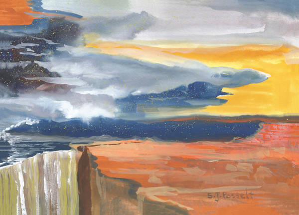 Painting - Early Canyon Sky by Sheri Jo Posselt