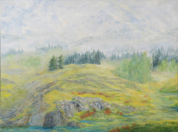 Wall Art - Painting - Early Foothills by Sunny Franson