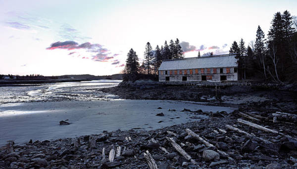 Photograph - Early Light At The Old Smokehouse by Marty Saccone