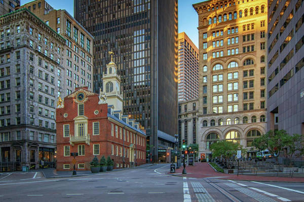 Photograph - Early Morning At The Old Statehouse by Kristen Wilkinson