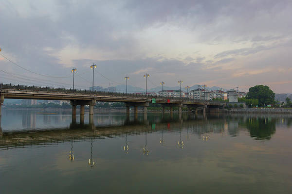 Photograph - Early Morning Bridge by William Dickman