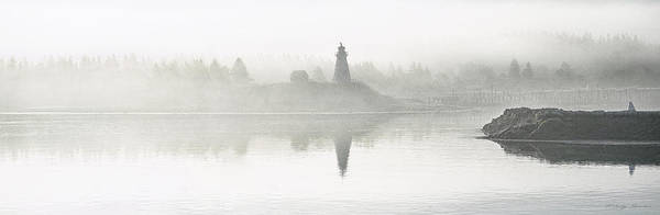 Photograph - Early Morning Fog At Mulholland Point Lighthouse by Marty Saccone