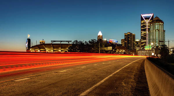 Photograph - Early Morning In Charlotte Nc by Alex Grichenko