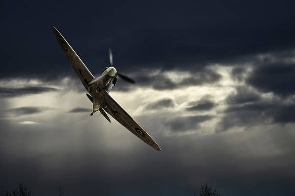 Photograph - Early Morning Low Pass by Philip Rispin