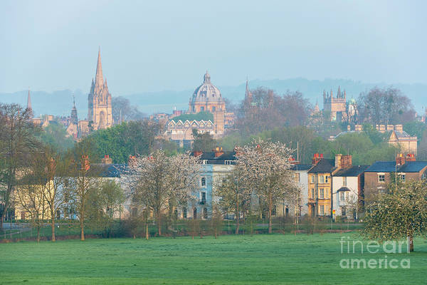 Wall Art - Photograph - Early Morning Oxford In Spring by Tim Gainey