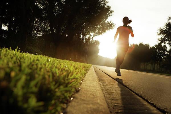 Endurance Wall Art - Photograph - Early Morning Run by Nycshooter