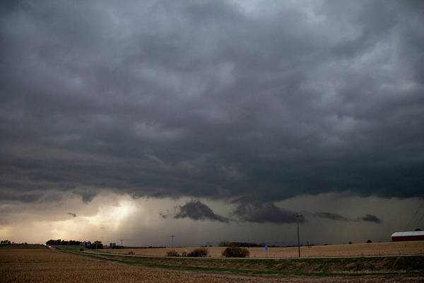 Photograph - Early Morning Severe Thunderstorms 003 by Dale Kaminski