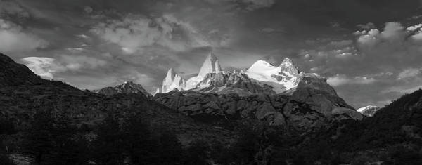 Wall Art - Photograph - Early Morning Sunlight On Mountain by Panoramic Images
