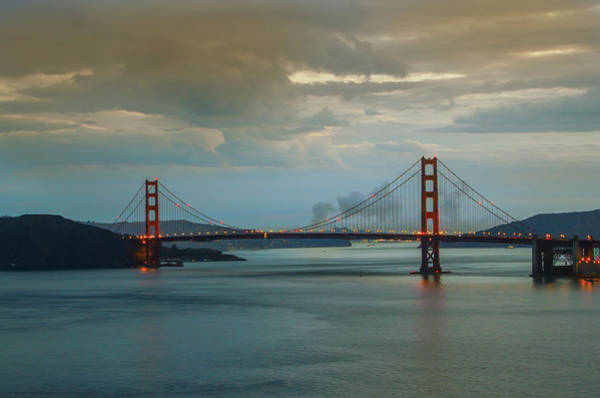 Photograph - Early Morning - The Golden Gate Bridge by Bill Cannon