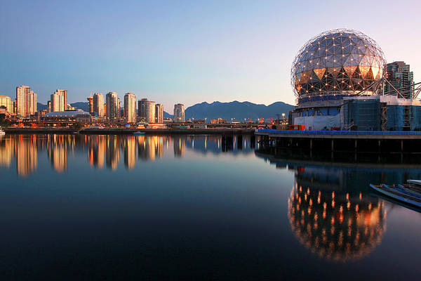False Creek Wall Art - Photograph - Early Morning Vancouver by Kevin Van Der Leek Photography