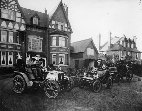Suburbs Photograph - Early Motoring by Topical Press Agency