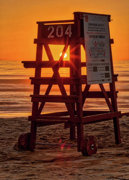 Photograph - Early Rise Lifegaurd by Dillon Kalkhurst