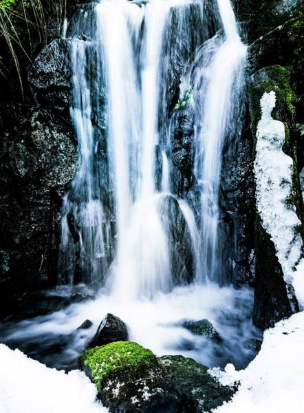 Wall Art - Photograph - Early Spring Waterfall by Nicklas Gustafsson