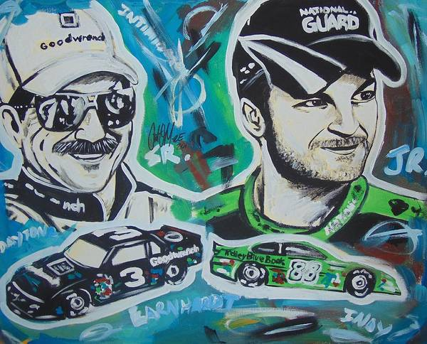 Painting - Earnhardt Legacy by Antonio Moore