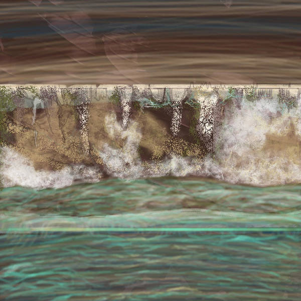 Wall Art - Painting - Earth And Water by Marshal James