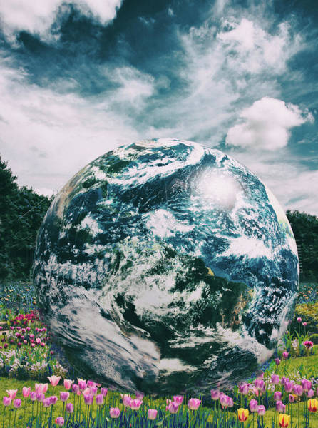 Wall Art - Photograph - Earth Day by Jessica Jenney