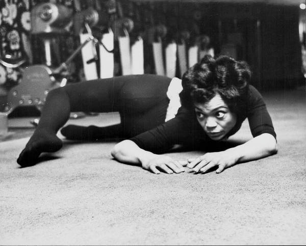 Dancing Photograph - Eartha Kitt by Express