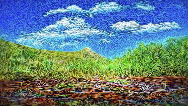 Digital Art - Earthy Field Afternoon by Joel Bruce Wallach